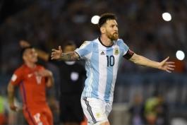 کاپیتان آرژانتین - مقدماتی جام جهانی روسیه - آرژانتین - شیلی