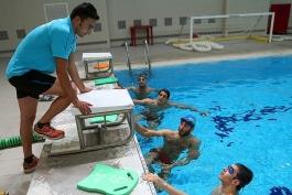 شنا-فدراسیون شنا-اردوی تیم ملی شنا-فدراسیون شنا، شیرجه و واترپلو