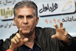 کارلوس کی روش-تیم ملی فوتبال ایران-فدراسیون فوتبال
