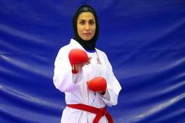 حمیده عباسعلی-کاراته-رقابتهای جهانی کاراته