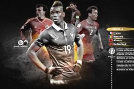 یورو 2016؛ پوستر اختصاصی طرفداری از برنامه بازی های گروه اول