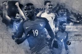 یورو 2016؛ پوستر اختصاصی طرفداری، خروس های آبی پوش