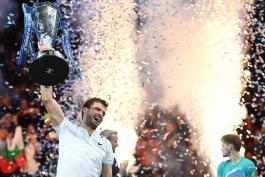 فینال تور جهانی تنیس مردان- نیتو لندن- دیوید گوفین