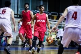 بسکتبال جام ولیامز جونز-تیم ملی ب ایران-بسکتبال