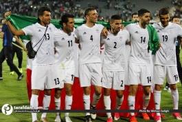 شادی بازیکنان تیم ملی-خوشحالی بازیکنان پس از صعود به جام جهانی-مقدماتی جام جهانی 2018