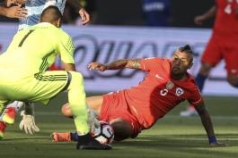 گزارش تصویری؛ آرژانتین 2-1 شیلی