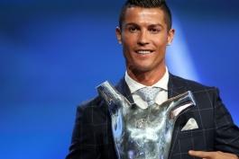 تمامی برنده های جایزه بهترین بازیکن سال یوفا