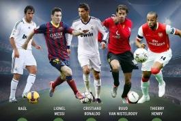 بهترین گلزنان تاریخ لیگ قهرمانان اروپا (عکس)