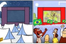 کاریکاتور روز: تب نیمار، برزیل را فرا گرفته است