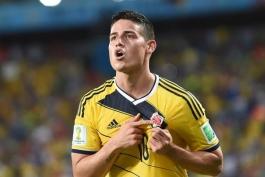 بهترین بازیکنان مرحله گروهی جام جهانی: جیمز رودریگز جای بنزما را گرفت