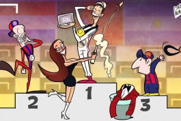 کاریکاتور روز: رونالدو برنده جایزه Goal 50 شد