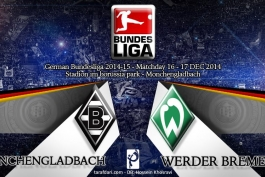 پیش بازی گلادباخ - وردربرمن؛ گلادباخ و تلاش برای باقی ماندن در بالای جدول
