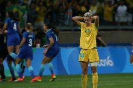 فوتبال زنان المپیک ریو 2016؛ با صعود میزبان، پازل مرحله نیمه نهایی تکمیل شد