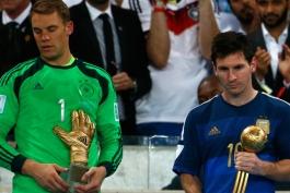 سپ بلاتر و مارادونا از عدم سزاواری مسی برای بردن توپ طلا، صحبت کردند