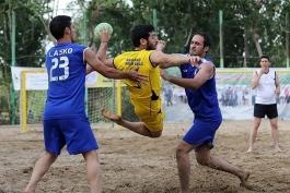 مسابقات هندبال - ساحلی - قهرمانی مردان آسیا