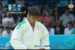 ویدئو؛ بازی های آسیایی (جودو)؛ شکست جمالی در دیدار رده بندی