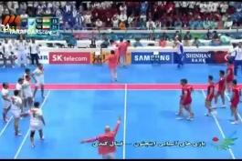 بازی های آسیایی (کبدی)؛ خلاصه بازی ایران 25-27 هند