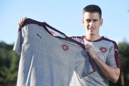 پیراهن جدید باشگاه هارتس با طرحی از نام هشت هزار هوادار وفادار باشگاه