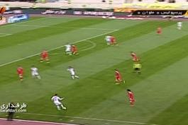 گل بازی پرسپولیس 0-1 ملوان