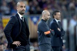 گواردیولا: مالکیت توپ را می خواستیم اما در برابر بارسلونا غیر ممکن است!