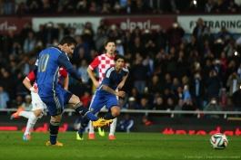 آرژانتین 2-1 کرواسی؛ پا قدم توز خوب بود