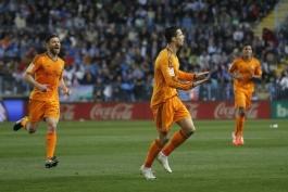کریستیانو رونالدو اولین بازیکنی که 5 فصل متوالی به 25 گل می رسد