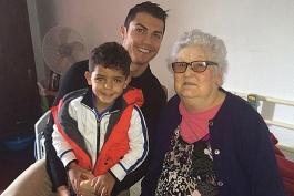 کریستیانو رونالدو، مادر بزرگ خود را از دست داد