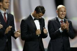 لحظه به لحظه از موناکو؛ کریستیانو رونالدو به عنوان بازیکن سال اروپا انتخاب شد
