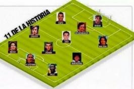 تیم منتخب تمام دوران از نگاه رونالدو نازاریو دالیما