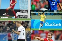 فوتبال زنان در المپیک ریو 2016؛ جدول گلزنان در پایان دور گروهی
