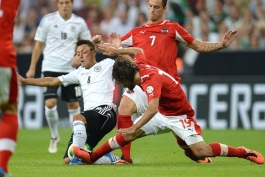 آلمان 3 - 0 اتریش؛ ویدیو های بازی