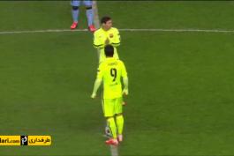خلاصه بازی منچسترسیتی 1-2 بارسلونا