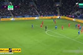 گل های بازی لسترسیتی 3-1 لیورپول