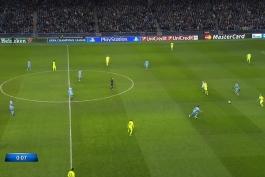 فول مچ بازی منچسترسیتی 1-2 بارسلونا