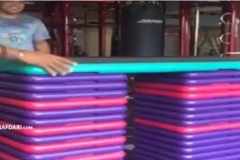 ویدیو؛ آمادگی جسمانی جالب رونالدو نازاریو