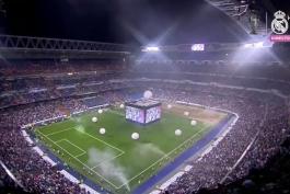 دانلود جشن قهرمانی رئال مادرید در لیگ قهرمانان اروپا در ورزشگاه سانتیاگو برنابئو (2015/16)