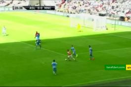 گل ها و خلاصه بازی آرسنال 3 - 0 منچسترسیتی