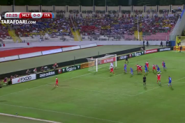 گل بازی مالت 0 - 1 ایتالیا