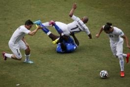 گل و خلاصه بازی ایتالیا 0 - 1 اروگوئه