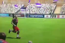 ویدیو فان؛ تمارض روبن در بازی FIFA 15