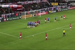 گل بازی استونی 0 - 1 انگلیس