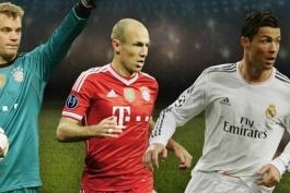 کلیپ؛  رونالدو- نویر- روبن، کدام یک برنده جایزه ی بهترین بازیکن اروپا خواهد شد؟