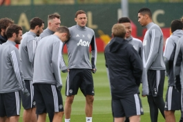 Matic - Daley Blind - Juan Mata - Manchester United Training - تمرینات منچستر یونایتد
