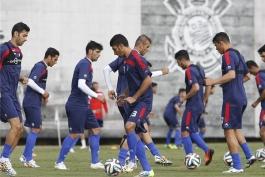 پیروزی تیم ملی با گلزنی پورعلی گنجی
