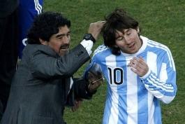 انتقاد مارادونا از عملکرد آرژانتین در جام جهانی