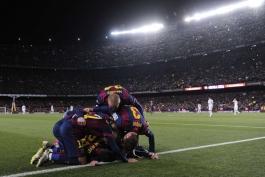 گزارش تصویری: بارسلونا 2 - 1 رئال مادرید