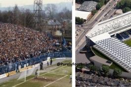 گزارش تصویری: از گذشته تا به حال استادیوم های فوتبال