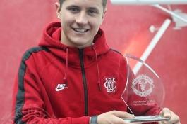 انتخاب هررا به عنوان برترین بازیکن ماه گذشته باشگاه منچستریونایتد