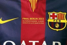 عکس روز: پیراهن های ویژه باشگاه بارسلونا برای فینال لیگ قهرمانان