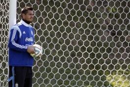 سرجیو رومرو: خوشحالم که رو به روی مسی به میدان نمی روم؛ لئو یک ستاره تمام عیار است